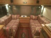 2001 2 berth senator vermont caravan