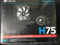 Corsair h75 liquid cooler