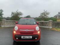 2013 Fiat 500L MPV 1.3 diesel, £20 tax