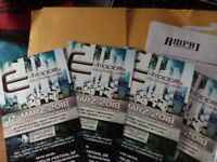 Tickets for E-tropolis Festival 2018 on 17th March in Oberhausen, Germany x 4, VNV Nation, Chrom etc