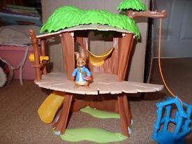 Peter Rabbit Tree House