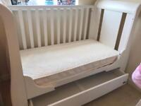 Tutti Bambini katie cot bed with drawer and mattress