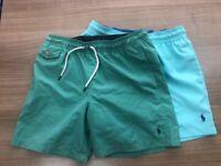 Boys Polo Ralph Lauren swim shorts size M