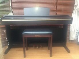 Yamaha Clavinova digital piano.