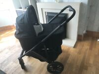 Jake black Uppababy VISTA buggy/pram