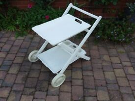 Outdoor drinks trolley