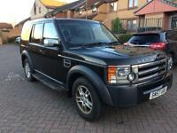 Land Rover discovery 3 2.7 tdv6 GS 7 seater fsh 2008 registered