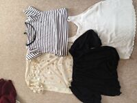 size 12 bundle of tops