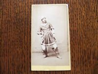 VICTORIAN CDV PHOTOGRAPH OF A VICTORIAN ACTOR IN COSTUME IN GOOD CONDITION £5