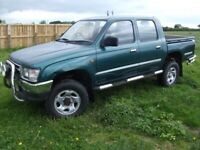 TOYOTA HILUX WANTED ANY CONDITION