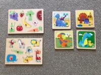 Kids wooden jigsaw