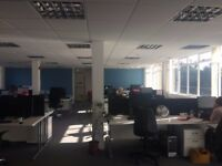 Bright office space in central Cardiff