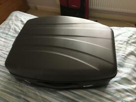 Graphite hard shell suitcase/trolley case m&s