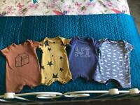 Boys NEXT Rompers 6-9 months