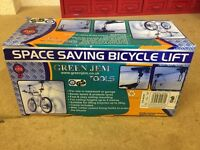 Space Saving Bicycle Lift (set of 2)