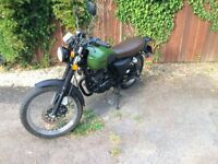 Herald Classic 125 - 125cc Motorcycle (CBT Learner/A1 Licence Legal)