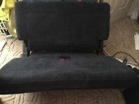 Mitsubishi Shogun rear seat