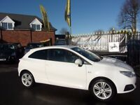 SEAT IBIZA 1.4 16v Good Stuff SportCoupe 3dr (white) 2010