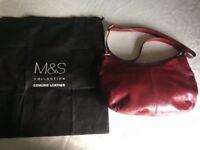 M&S Collection Genuine Leather Handbag / Shoulder bag