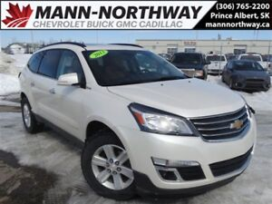 2013 Chevrolet Traverse 2LT | AWD, 3.6L, Remote Start, Leather,