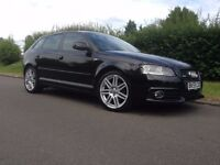 2009 AUDI A3 2.0 TDI S LINE 140 BHP SPORTBACK FULL AUDI SERVICE HISTORY OWNED BY SAME FAMILY