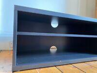 MOSJÖ TV bench, black-brown90x40x38 cm