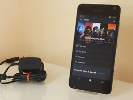 Microsoft Lumia 650 Factory Unlocked Black on Windows 10 Mobile Latest Version!