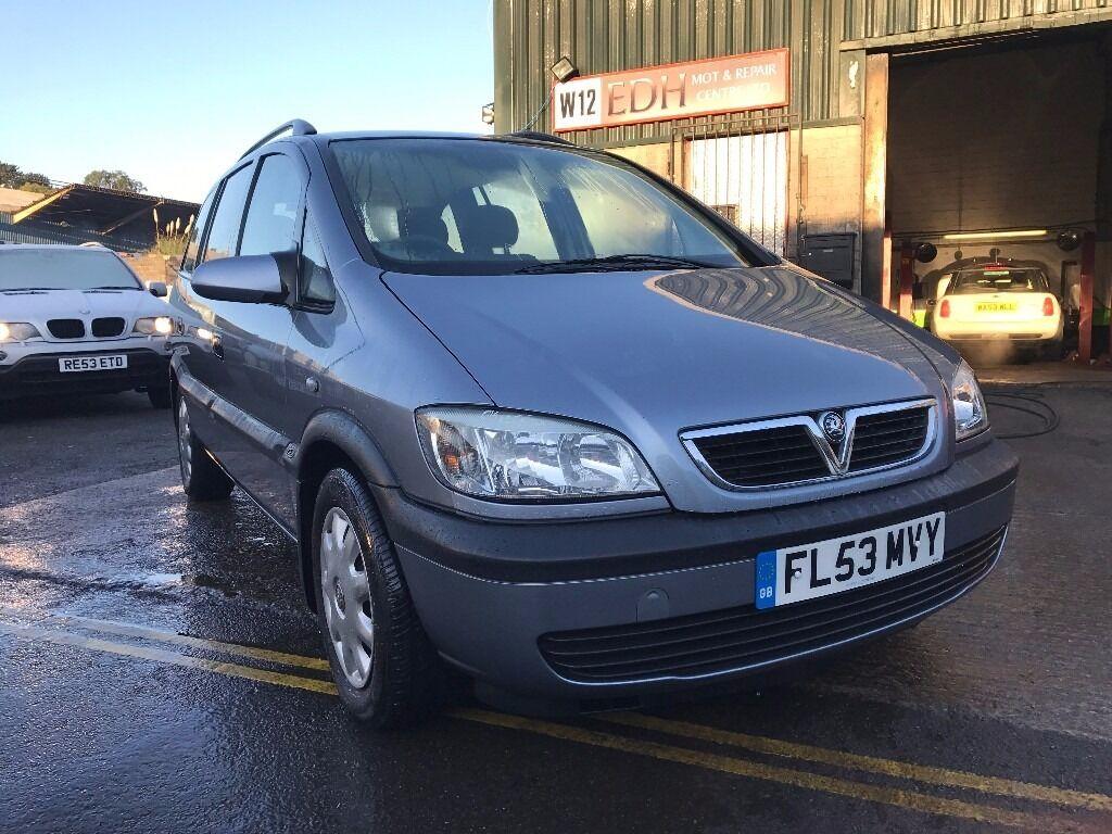 Vauxhall Zafira 1.8 i 16v Club 5dr