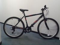 "Raleigh Designed Activ Flyte Mountain Bike - 18"" Frame/Alloy Rims/Grip Shifters/18 speed - RRP £150"