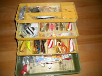Coffre a peche 3 tirroirs, Fishing tackle box