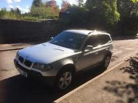 BMW X3 2.0d Sport, Silver