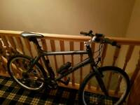 Mens hybrid bike carrera