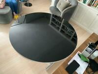 Italian design table- adjustable height and top