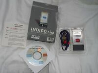 Echo Indigo io Audio Interface Recording Sound Card – used 3 times - as new.