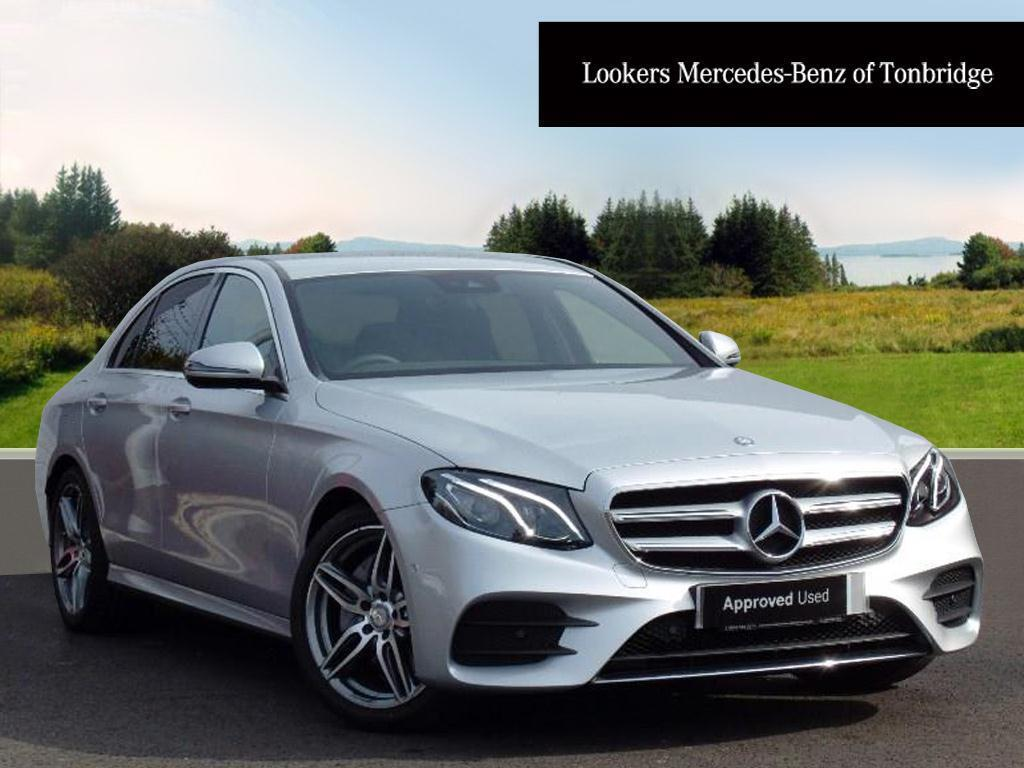 mercedes benz e class e 200 d amg line silver 2017 04 05 in tonbridge kent gumtree. Black Bedroom Furniture Sets. Home Design Ideas