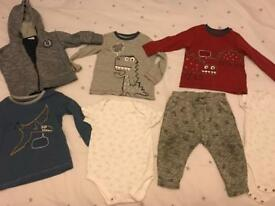 C Zara jogging bottoms bundle 12-18 months