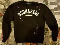 dsquared2 men's jumper and t-shirt size medium