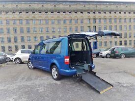 CHEAP Volkswagen CADDY MAXI LIFE 1.6 Diesel 1 OWNER WHEELCHAIR ACCESS RAMP