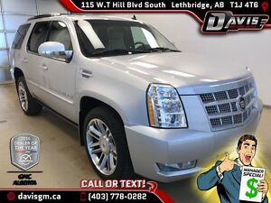 Used 2014 Cadillac Escalade-Navigation, Sunroof, Rear DVD