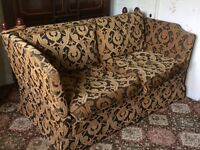 Quality sofa and arm chair