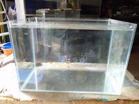 For sale 40 litre fish tank / aquarium
