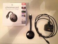 Google Chromecast 2 Wifi Black