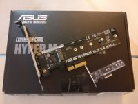 Asus HYPER M.2 x4 MINI M.2 Hyper Interface Adapter for Z170, H170, X99, Z97, H97, B85 Motherboards