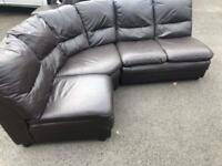 Leather corner group
