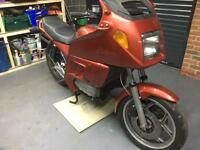 BMW K100 and K75 being broken for parts.
