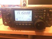 Icom 746 HF6m/2m with FL-100 CW narrow filter