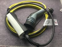 Electric car charger cable