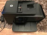 HP OFFICE JET 7510 PRINT SCAN FAX COPY WEB A3 / A4 ALL IN ONE PRINTER LIKE NEW FULLY WORKING + INK