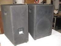 "200w, 12"" & horn speakers. Eminence loaded"