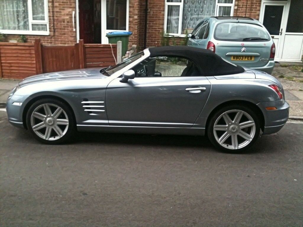 Purchase Used Chrysler Crossfire Convertible Grey: Chrysler Crossfire Roadster Convertible V6 3.2 Rare 6